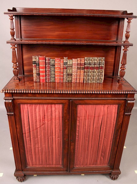 Superb Gillows Quality Chiffonier Cabinet Bookcase