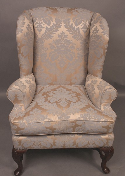 Very Good George II style Wing Armchair