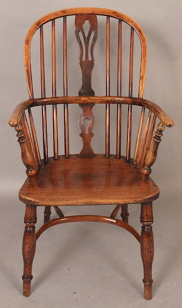 Antique Windsor Armchair by George Nicholson Rockley