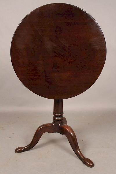 Georgian Tripod or Supper Table in Mahogany