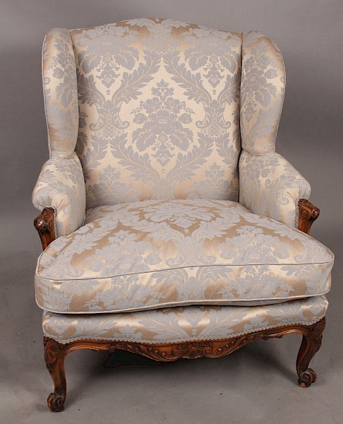A very attractive Wing Armchair Georgian Style