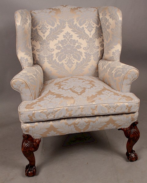 Wing Chair in the Style of George II