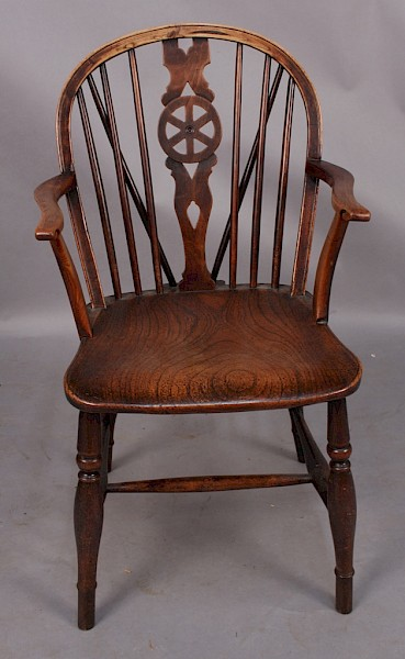 Thames Valley Ash and Elm Windsor Armchair