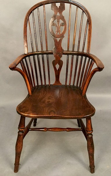 Thames Valley Yew Windsor Armchair R Prior