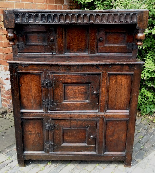 Small 17th century  Court Cupboard