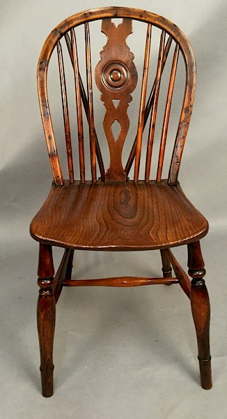 Yew Wood Kitchen Windsor Chair
