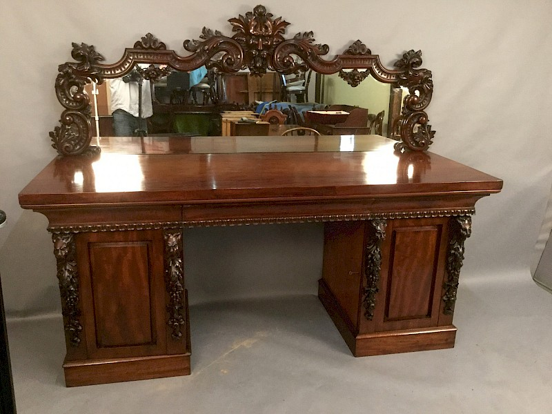Very Impressive Victorian Sideboard