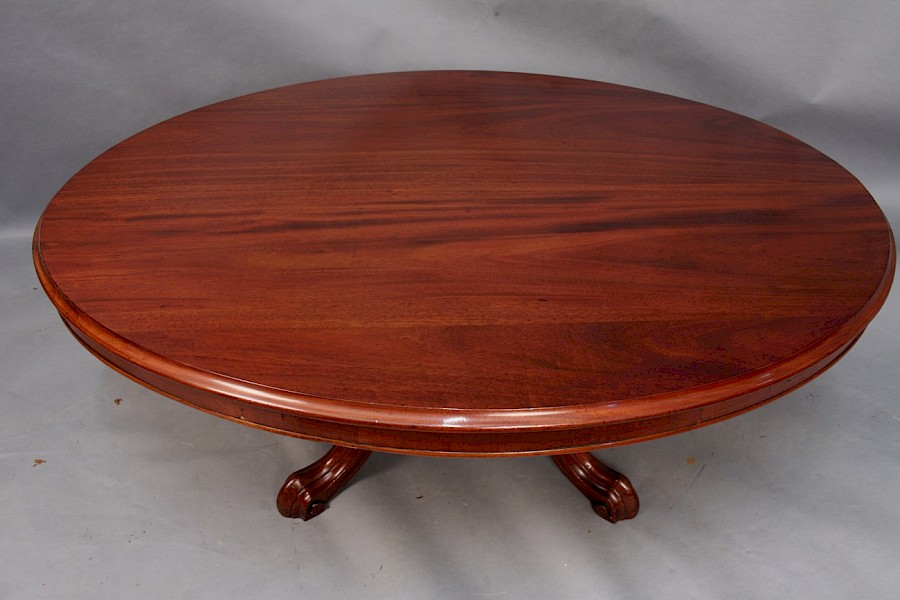 Victorian Coffee Table in Mahogany