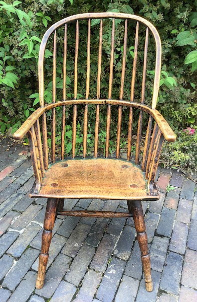 West Country Spindle Back Windsor Chair