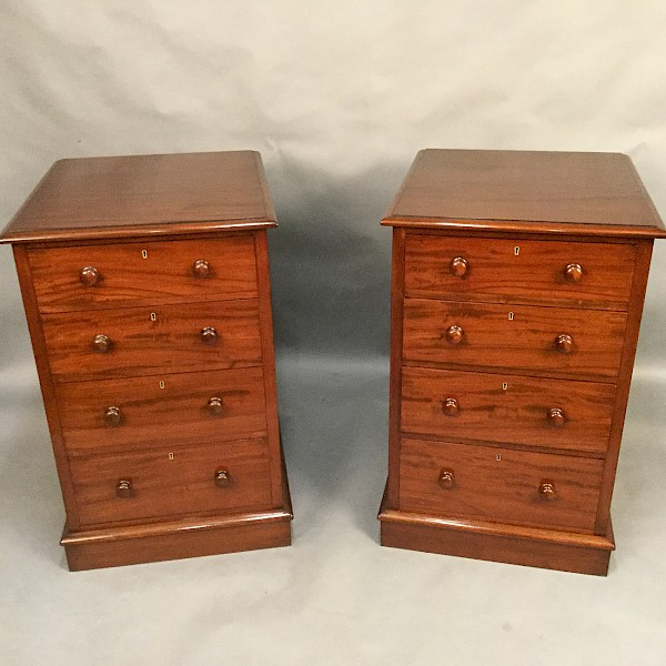 Very Large Pair of Chests Bedsides