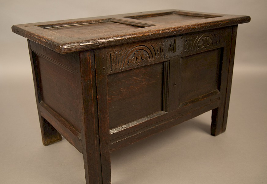 Small Size 17th century Coffer