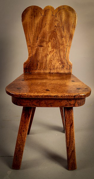 Interesting Georgian Hall Chair