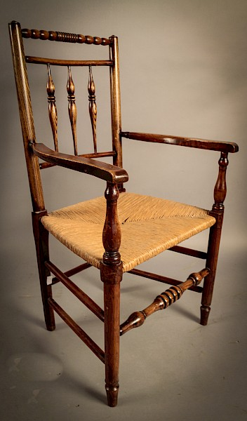 Georgian Country Armchair