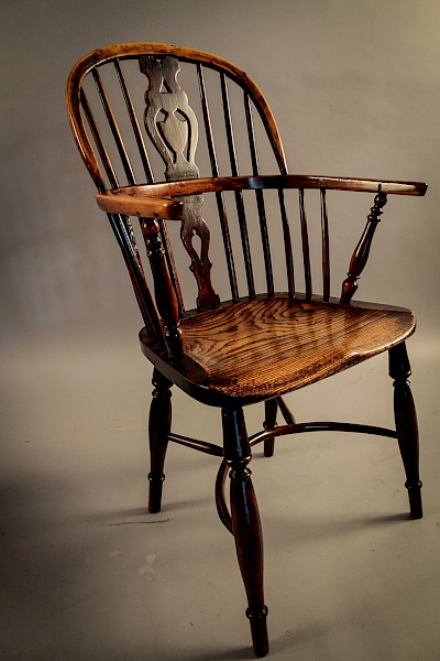 Yew Wood Windsor Chair