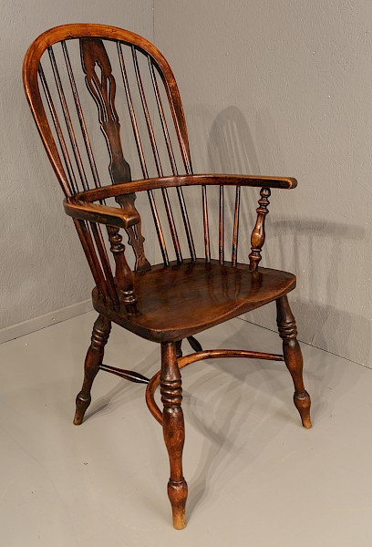 Ash and Elm High Windsor Chair Nottingham Maker