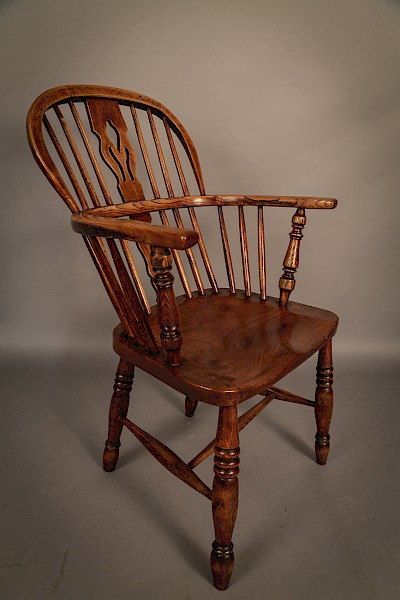 Ash and Elm Windsor Chair