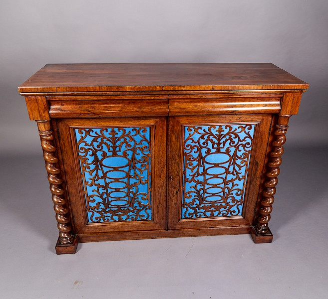 Rosewood Chiffonier Victorian