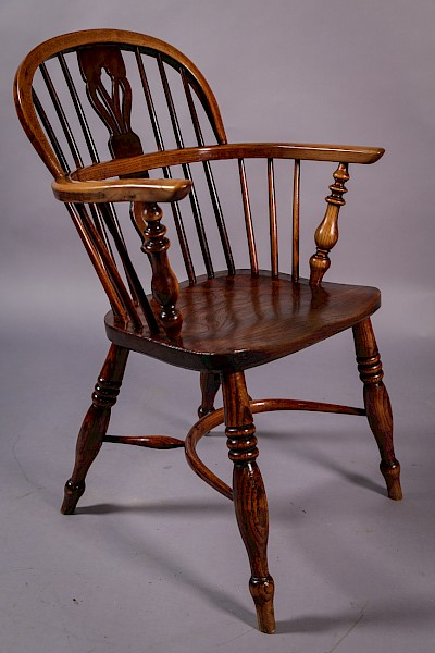 Ash and Elm Windsor Chair Fred Walker Rockley