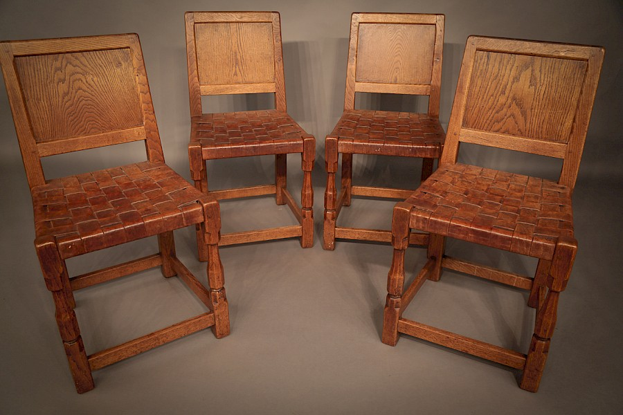 Set of 4 Mouse Chairs