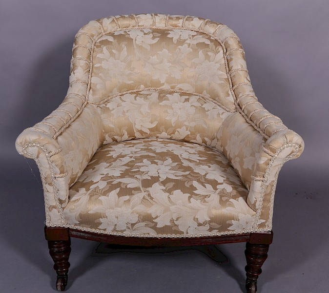 Victorian Upholstered Tub Chair