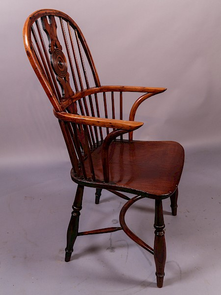 Thames Valley Yew Wood Windsor Armchair