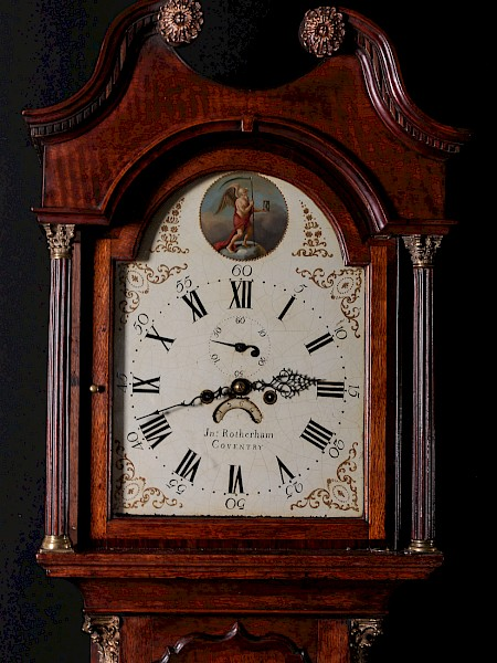 8 Day Long Case Clock John Rotherham Coventry