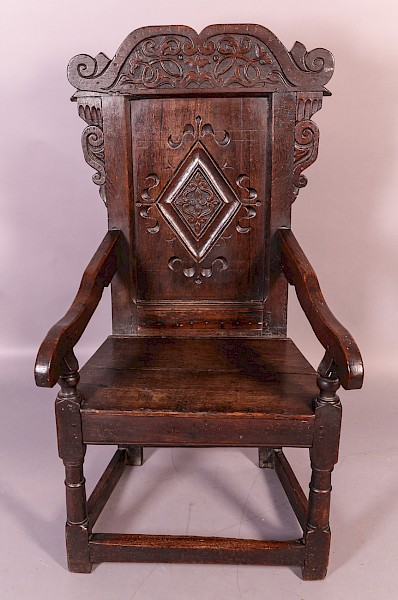 Early Yorkshire Wainscot Chair