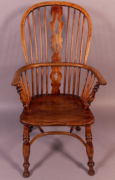 Rare Ash Windsor Chair by Fred Walker