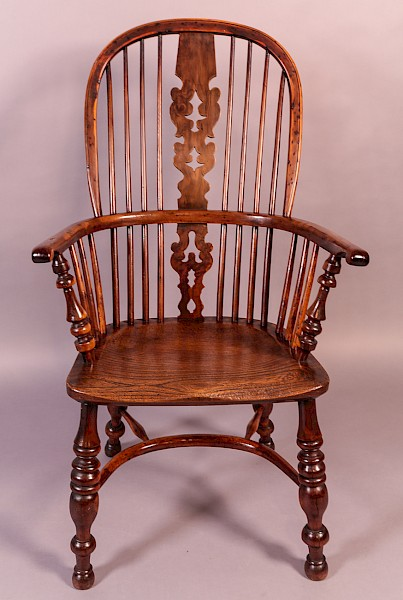 A Yew Windsor Chair Allsop Worksop