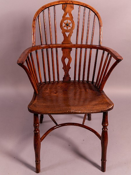 Yew wood Windsor Chair Thames Valley Area