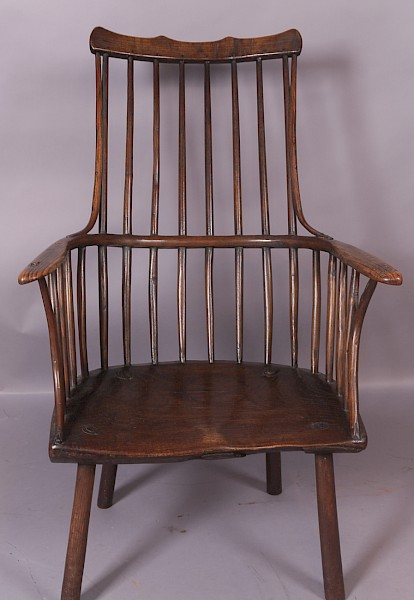Georgian West Country Windsor Chair