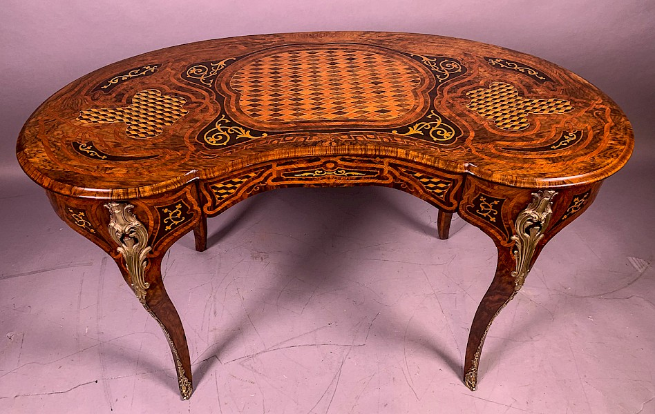 Superb Quality Marquetry and Parquetry centre table