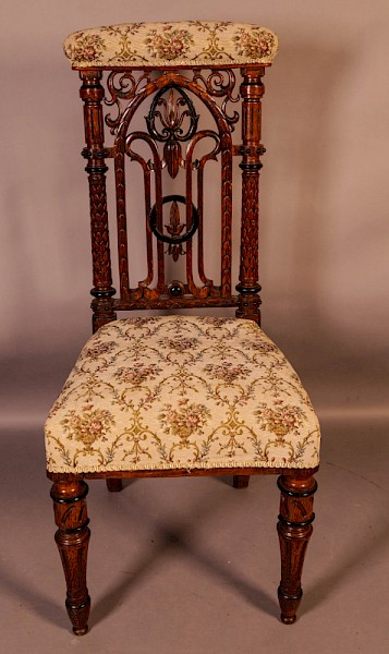 Gothic Prayer Chair