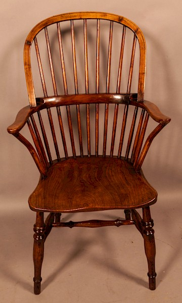 A Very Unusual Windsor Chair